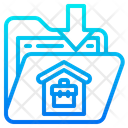 Home Worker Work From Home Icon