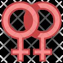 Homosexual Gender Sign Icon