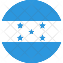 Honduras Flag World Icon