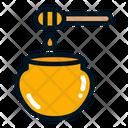 Honey Honey Jar Sweet Icon
