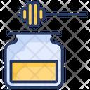 Honey Jar Bees Icon