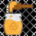 Honey Bee Jar Icon