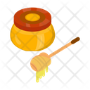 Honey Sweets Comb Icon