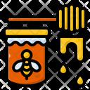 Honey Honeycomb Sweet Icon