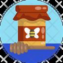 Honey Bee Farm Produce Icon