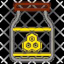Honey Jar Bee Icon