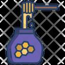 Honey Honey Jar Honey Stick Icon