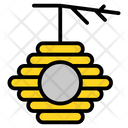 Honey Bee Jar Icon