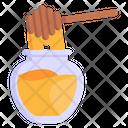 Honey Dip Honey Jar Honey Icon