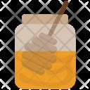 Honey Dipper Jar Icon