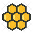 Honey Honeycomb Wax Icon