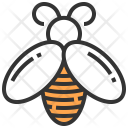 Honey Bee Queen Bee Insects Icon