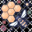 Beehive Honeycomb Hive Icon
