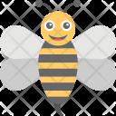 Honey Bee Cartoon Icon