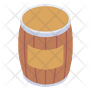Cask Wooden Drum Wooden Barrel Icon