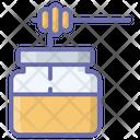 Honey Dip Honey Jar Honey Bottle Icon