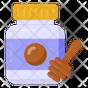 Honey Pot Honey Jar Jar Bottle Icon