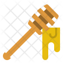 Honey Dipper Utensil Icon