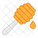 Honey Dipper Honey Spoon Dipper Stick Icon