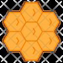 Honey Formula Compound Chemistry Icon