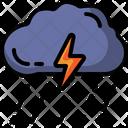 Storm Rain Weather Icon