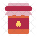 Honey Jar Jam Autumn Icon