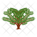 Honey Locust Wild Tree Shrub Icon
