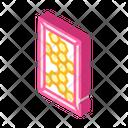 Honey Comb Isometric Icon