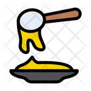 Spoon Honey Plate Icon