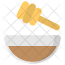 Honey Treatment Bowl Icon