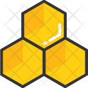 Honeycomb Honey Sweet Icon