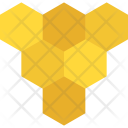 Bees Honeycomb Beehive Icon