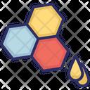 Honey Honeycomb Sweet Food Icon
