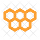 Honeycomb Comb Structure Icon