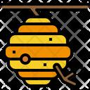 Bee Honey Honeycomb Icon