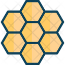 Bee Farmingm Honeycomb Bee Farming Icon