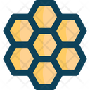 Honey Combm Honeycomb Bee Farming Icon