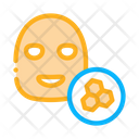 Cosmetic Facial Honeycomb Icon