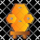 Honey Bee Beehive Icon