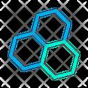 Geometric Pattern Hexagon Shape Hexagonal Pattern Icon