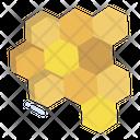 Honeycomb Honey Sweet Icon