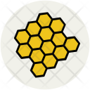 Honeycomb Hive Beeswax Icon