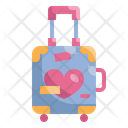 Honeymoon Travel Bag Icon
