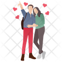 Honeymoon Married Couple Couple Love Icon