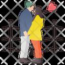 Honeymoon Romantic Couple Couple Romance Icon