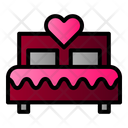 Bed Love First Night Icon