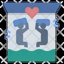 Bedroom Couple Honeymoon Icon