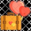 Honeymoon Bag Ballons Icon