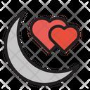 Honeymoon Love Couple Icon