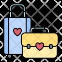 Honeymoon Bag Wedding Icon